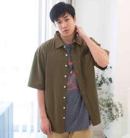 綿麻半袖シャツ