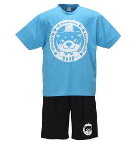 吸汗速乾ハニカムメッシュ半袖Tシャツ+ハーフパンツ
