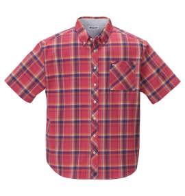 マドラスチェックB.D半袖シャツ