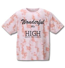 総柄プリント半袖Tシャツ