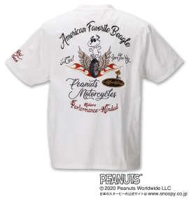 スヌーピーコラボ半袖Tシャツ
